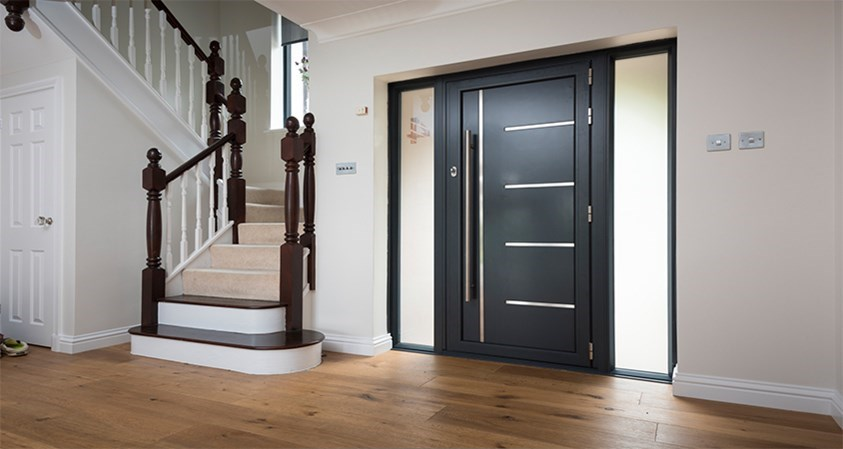 5 advantages of owning an aluminium front door – Interior ...  |Aluminium Front Doors
