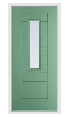 new arrival 00d9d 74dcc Endurance Alto Composite Front Door - Chartwell Green