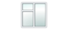 UPVC Essential Window S3B