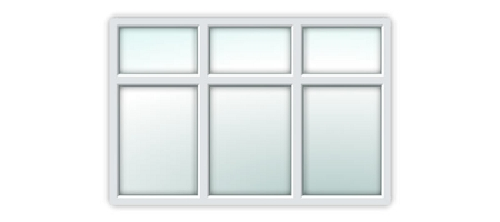 UPVC Essential Window S6A