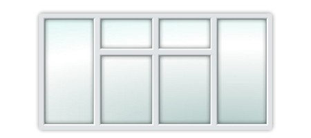 UPVC Essential Window S6B