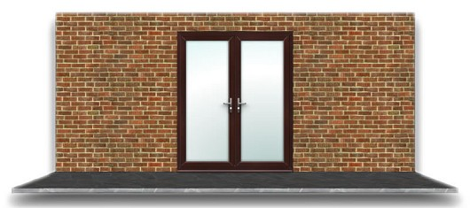 UPVC Essential French Door FD1